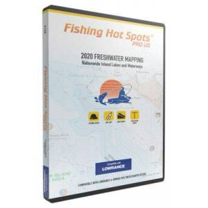 Fishing Hot Spots PRO US 2020 Freshwater Digital Map and Fishing Chip