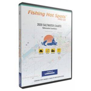Fishing Hot Spots PRO US 2020 Saltwater Digital Map and Fishing Chip