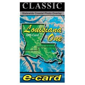 Standard Mapping Services Classic Marine Map GPS E-Cards - LA One Classic - Garmin