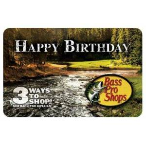 Bass Pro Shops Happy Birthday Gift Card - $500