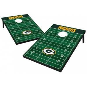 Wild Sports NFL Tailgate Toss Cornhole Set - Green Bay Packers
