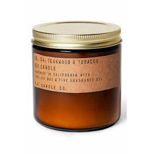 P.f. Candle Co. Soy Candle, Size 7.2 oz - Brown