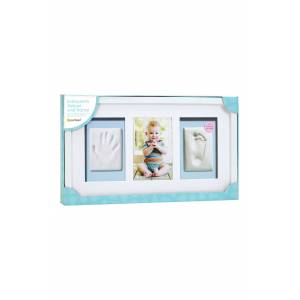 Pearhead Babyprints Deluxe Wall Frame Kit, Size One Size - White