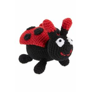 Ware Of The Dog Organic Cotton Lady Bug Toy, Size One Size - Red