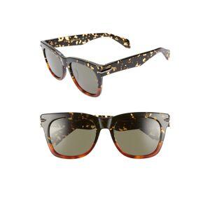 rag & bone Women's Rag & Bone 54mm Polarized Sunglasses - 0C9B-Qt - Black/ Havana Honey