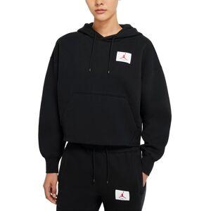 Nike Women's Nike Jordan Flight Fleece Hoodie, Size Small - Black