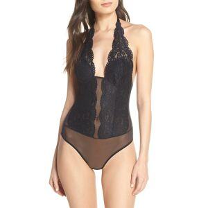 b.tempt'D by Wacoal Women's B.tempt'D By Wacoal Ciao Bella Lace Bodysuit, Size Small - Black