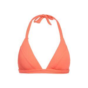 Becca Women's Becca Fine Line Bikini Top, Size Medium - Orange