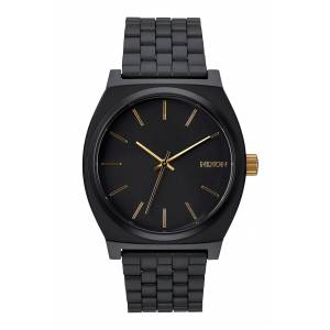 Nixon Men's Nixon 'The Time Teller' Stainless Steel Bracelet Watch, 37mm