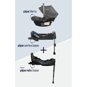 Nuna Infant Nuna Pipa(TM) Lite Lx Infant Car Seat & Two Bases Bundle, Size One Size - Grey