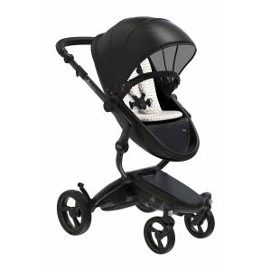 mima Infant Mima Xari 2020 Black Chassis Stroller With Reversible Reclining Seat & Carrycot, Size One Size - Black