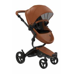 mima Infant Mima Xari 2020 Black Chassis Stroller With Reversible Reclining Seat & Carrycot, Size One Size - Brown