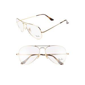 Ray-Ban Women's Ray-Ban 58mm Optical Glasses - Gold
