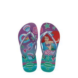 Havaianas Girl's Havaianas Disney Princess Flip Flop, Size 2 M - Purple