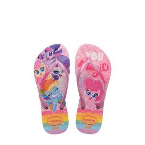 Havaianas Girl's Havaianas My Little Pony Flip Flop, Size 2 M - Pink