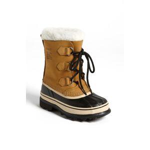 SOREL Boy's Sorel Caribou Waterproof Boot, Size 6 M - Beige