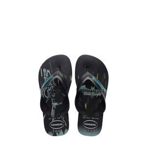 Havaianas Boy's Havaianas 'Batman(TM) - Max Heroes' Flip Flop, Size 2 M - Black