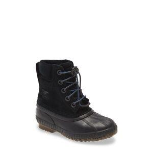 SOREL Boy's Sorel Cheyanne(TM) Ii Waterproof Boot, Size 1 M - Black