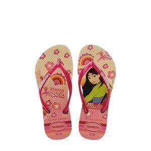 Havaianas Girl's Havaianas Disney Princess Flip Flop, Size 2 M - Red
