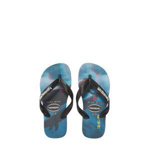 Havaianas Boy's Havaianas Photo Print Flip Flop, Size 13 M - Blue