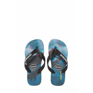 Havaianas Boy's Havaianas Photo Print Flip Flop, Size 2 M - Blue