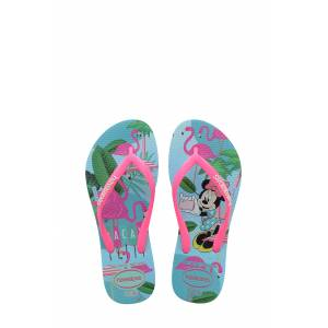 Havaianas Toddler Girl's Havaianas 'Disney Minnie Mouse' Flip Flop, Size 13/1 M - Blue