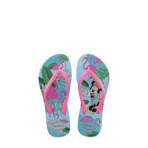 Havaianas Toddler Girl's Havaianas 'Disney Minnie Mouse' Flip Flop, Size 10 M - Blue