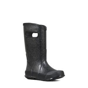 Bogs Girl's Bogs Glitter Waterproof Rain Boot, Size 2 M