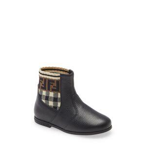 Fendi Toddler Girl's Fendi Sock Bootie, Size 9US - Black