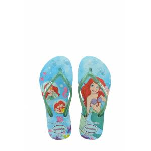 Havaianas Toddler Girl's Havaianas Disney Princess Flip Flop, Size 10 M - Blue