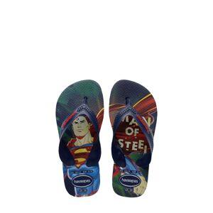Havaianas Boy's Havaianas 'Batman(TM) - Max Heroes' Flip Flop, Size 2 M - Blue