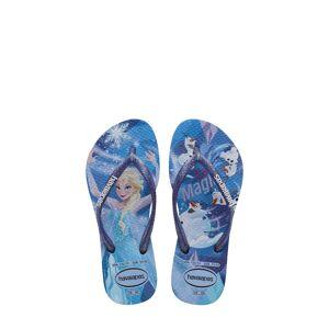 Havaianas Girl's Havaianas Slim 'Frozen' Flip Flop, Size 2 M - Purple