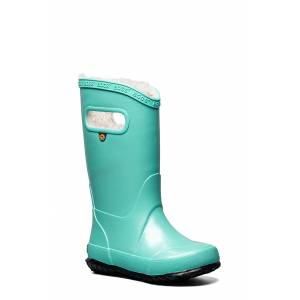 Bogs Toddler Bogs Metallic Plush Insulated Waterproof Rain Boot, Size 2 M - Blue/green
