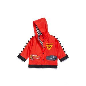 Western Digital Boy's Western Chief Lightning Mcqueen Hooded Raincoat, Size 6 - Red