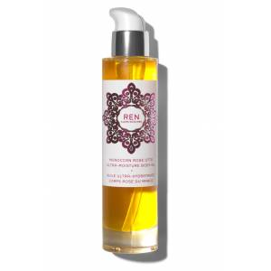Ren Clean Skincare Moroccan Rose Ultra-Moisture Body Oil, Size 3.3 oz