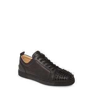 Christian Louboutin Men's Christian Louboutin Louis Junior Spikes Sneaker, Size 14US - Black