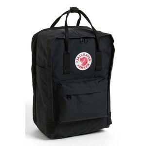 Fjallraven Kanken 15-Inch Laptop Backpack - Black