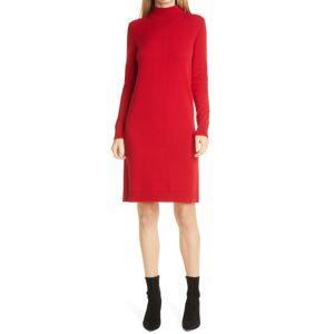 Boss Women's Boss Fabelletta Long Sleeve Sweater Dress, Size Medium - Red