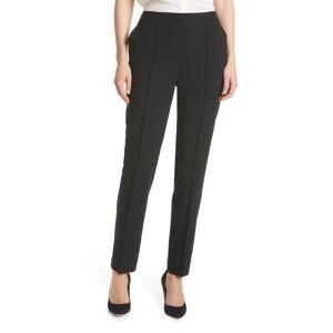 Boss Women's Boss Tahwena Pintuck Front Pants, Size 2 - Black