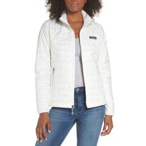 Patagonia Women's Patagonia Nano Puff Water Resistant Jacket, Size X-Small - White