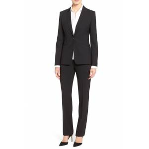 Boss Women's Boss Jabina Tropical Stretch Wool Jacket, Size 2 - Black