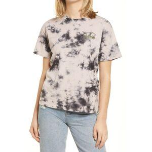 Dickies Women's Dickies Tie Dye Boyfriend T-Shirt, Size Medium - Black