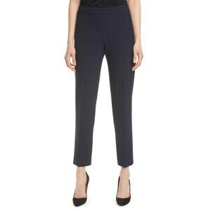 Boss Women's Boss Tiluna Soft Stretch Side Zip Ponte Trousers, Size 2 - Blue