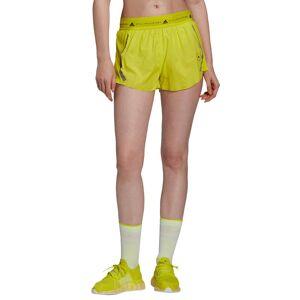 adidas by Stella McCartney Women's Adidas By Stella Mccartney Truepace Shorts, Size Large - Yellow