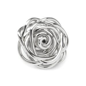 Cufflinks, Inc. Women's Cufflinks, Inc. Sterling Silver Rose Lapel Pin