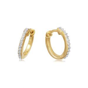 Missoma Women's Missoma Pave Huggie Hoop Earrings