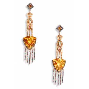 Daniela Villegas Women's Daniela Villegas Meerkat Earrings