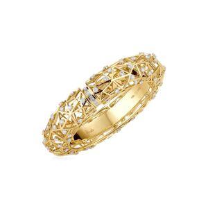 Hueb Women's Hueb Estelar Diamond Bangle Bracelet