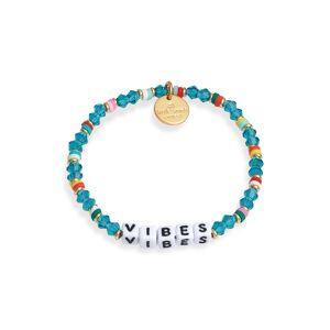 Pro-Ject Women's Little Words Project Vibes Beaded Stretch Bracelet