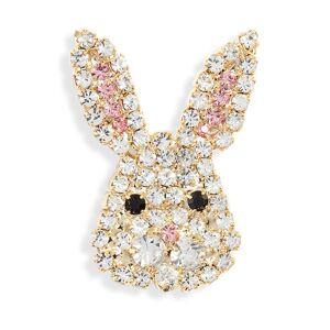CRISTABELLE Women's Cristabelle Bunny Cheeks Pin